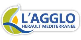 Logo de l'agglomération de l'hérault méditerranée
